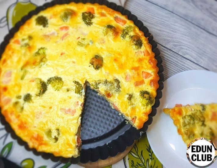 Как приготовить Пирог Киш с рыбой и брокколи