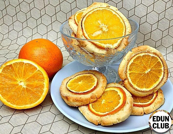 Как приготовить Апельсиновое печенье