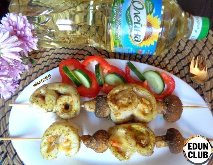 Как приготовить Судак, запечённый с креветками и сыром